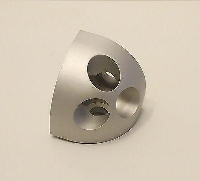 8020 8020 Inc Equivalent - Aluminum Round Tri Corner Connector 10 Series 4041