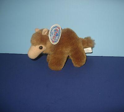 "1994 Club Earth 6"" Dromedary Camel Pal Stuffed Plush Stuffed Animal w/ Tag"