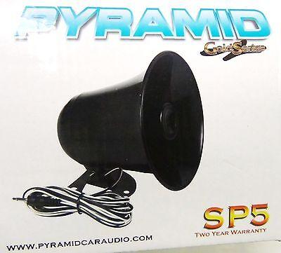 PA Speaker - Black - 3.5mm plug - Fits MOST CB Radios and ma