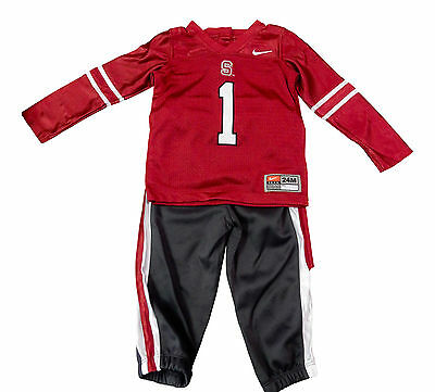 Nike Stanford Cardinal Football Uniform Baby Infant Halloween Fan Jersey Kids (Stanford Halloween)