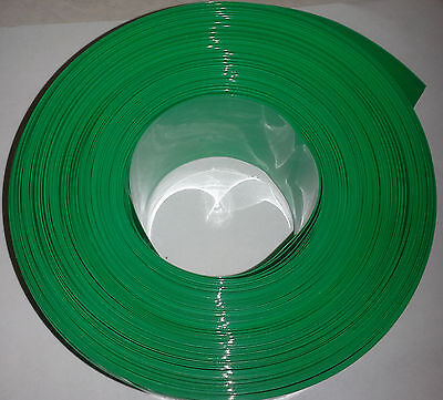 64mm 2.52 Pvc Heat Shrink Wrap For Battery Packs 10 Foot Roll - Us Seller