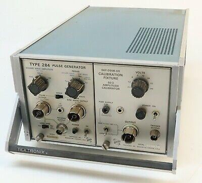 Tektronix Type 114 Pulse Generator W Calibration Fixture