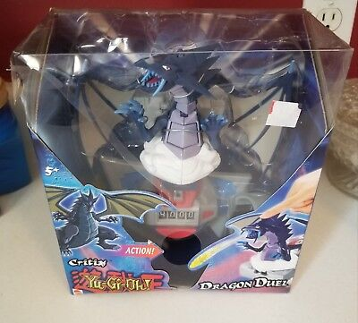 RARE BRAND NEW 2004 YU-GI-OH DRAGON DUEL CRITEAS ACTION FIGURE HAS PLASTIC TEAR