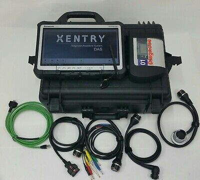 Mercedes C4 Star Diagnose Xentry 06/2020 Diagnosegerät MB Smart PKW LKW Bus OBD