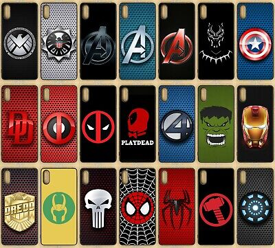 Marvel Rubber Phone Case For Sony Xperia L3, Xperia XZ2
