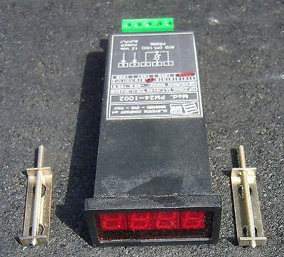 El System Rtd Pt100 Thermocouple Display Pm24-1002 12vdc Range -99.9 To 199.9