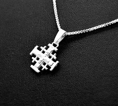 Silver Plated Necklace with Cross Charm