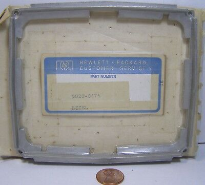 Hp Bezel 5020-0476 For O-scopes And Test Equipment