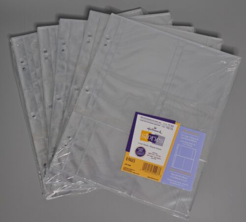 Hallmark Stories 3 Pocket Pages Lot of 5 Packs (8 Pages Each) AR1086