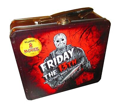 Friday the 13th 8-Movie Collection with Collectible Lunchbox