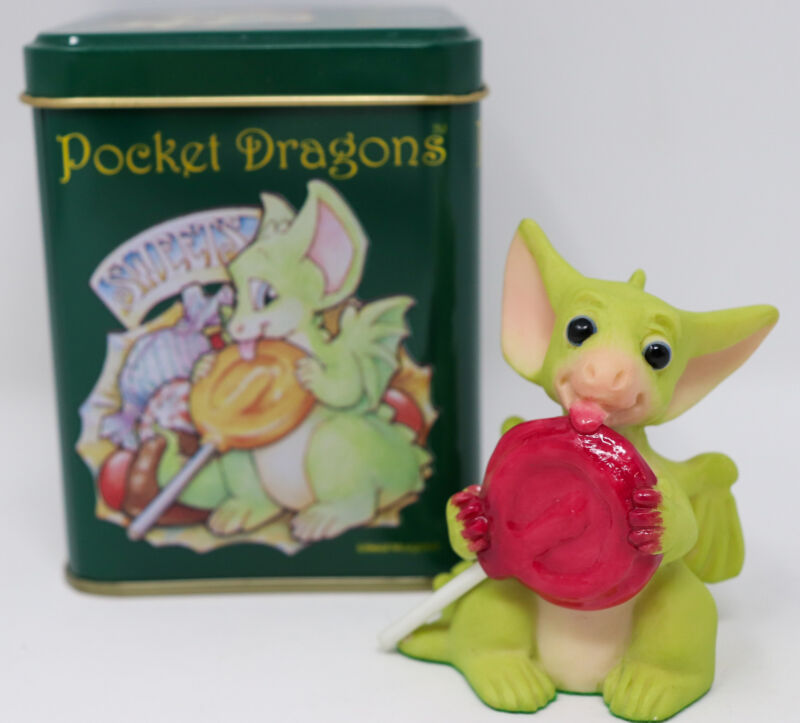 1997 Whimsical World of Pocket Dragons by Real Musgrave ~ Lollipop ~