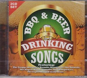 BBQ & BEER DRINKING SONGS - VARIOUS ARTISTS on 2 CD's