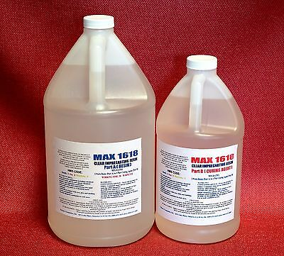 Epoxy Resin Clear Wood Working 4 Coating Commercial Bar Top Counter Top 1.5gal