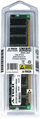 A-Tech 1GB PC3200 Desktop DDR 400 MHz DIMM 184-Pin non-ECC Memory RAM DDR1 1x 1G