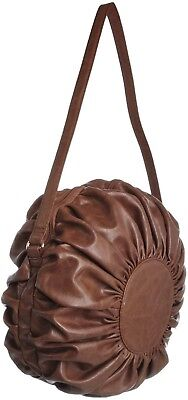 Zandra Rhodes Women''s Izzah 02 Shoulder Bag Brown Tan  Round Handbag Christmas for sale  Shipping to Ireland