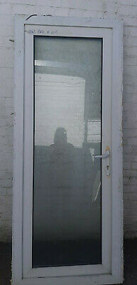 USED UPVC Door 840 x 2115 in White