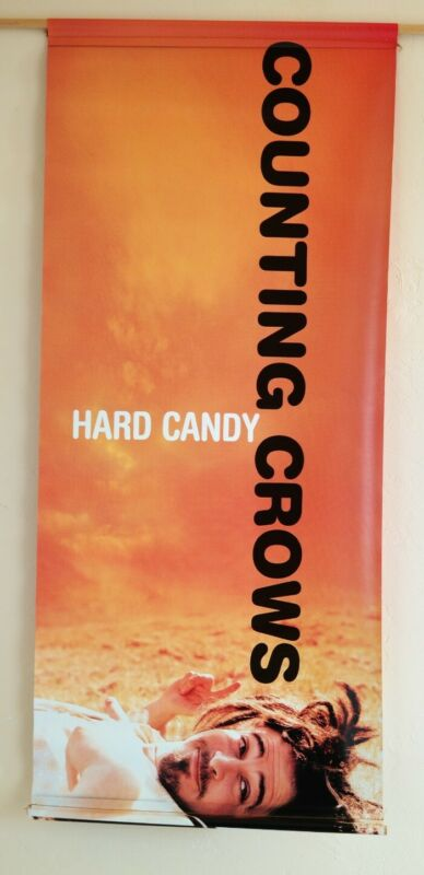 """Counting Crows Hard Candy Double Sided Vinyl Banner Hanging Poster 18"""" x 41.5"""""""
