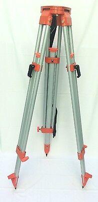 Aluminum Die Casting Flat Head Tripod Survey Contractor Laser Auto Level