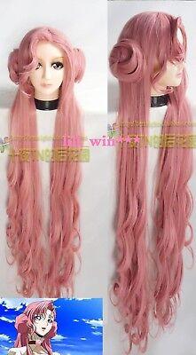Code Geass Euphemia Li Britannia/Euphy pink bun Halloween cosplay anime Hair wig - Code Geass Halloween