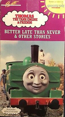 Thomas The Tank Engine Better Late Than Never Ringo Starr Shining Time Station