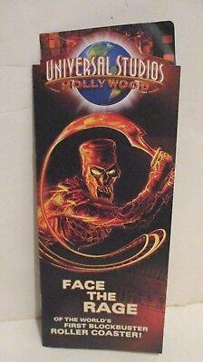 Universal Studios  Hollywood Theme Park Brochure 2004 Mummy Shrek 2Fast 2Furious