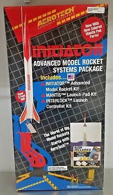 - AEROTECH Initiator Advanced Model Rocket Systems Package Starter Set 89001 - NEW