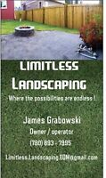 LIMITLESS LANDSCAPING!!! BEAT THE SPRING RUSH!!!