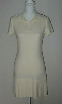 RALPH LAUREN Purple Label Silk Women's Pullover Tennis Dress size 4