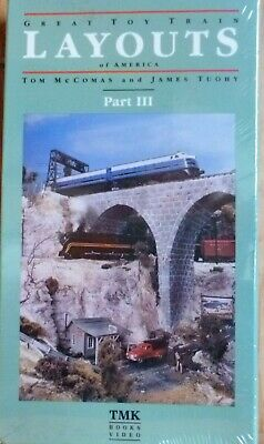 TM Great Toy Train Layouts Of America Part 3 Beta II Tape (New-Factory (Great Toy Train)