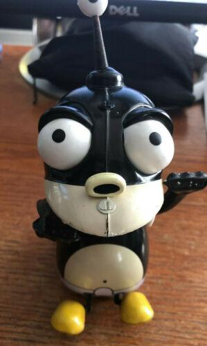 """Futurama Nibbler 5"""" Tin Wind Up Robot Action Toy Figure Rocket USA"""