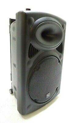 Used, QTX QR12PA Portable PA System with Wireless Mics-DAMAGED- RRP £188 for sale  York
