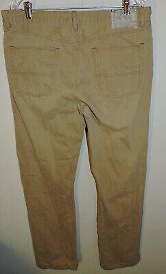 Men's Polo Ralph Lauren Classic Straight Leg Corduroy Khaki Pants Size 36 x 32