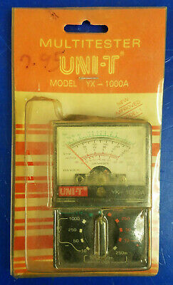 New Old Stock Multitester Uni-t Yx-1000a