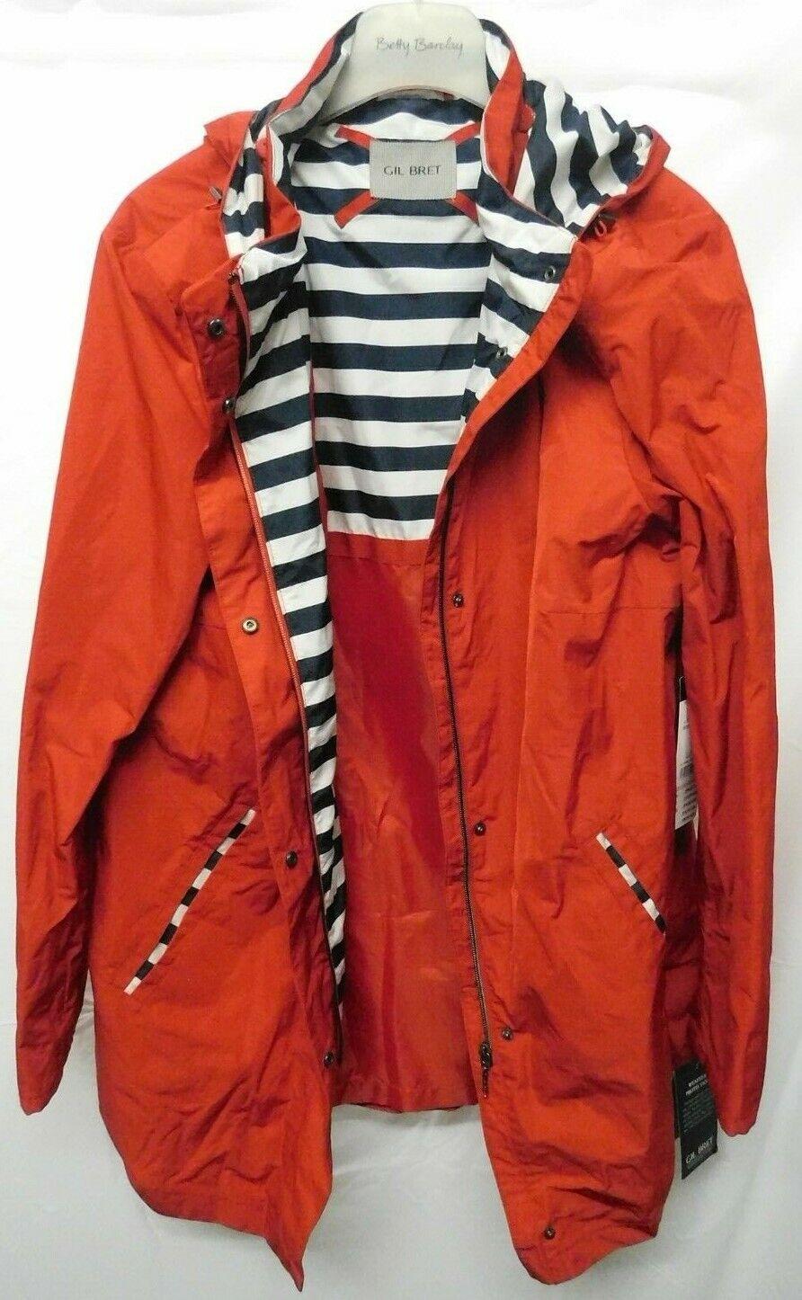 GIL BRET Regenjacke in rot für Damen in Gr.46