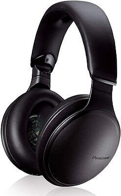 Panasonic RP-HD805N-K Noise Cancelling Over The Ear Headphones Alexa an other VC