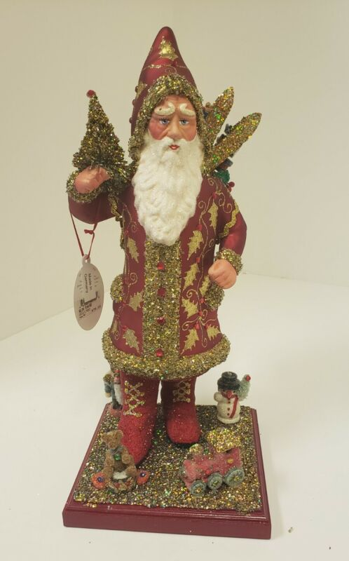 Christopher Radko Germany Paper Mache 2003 Holiday Santa-New-10 of 600 Schaller