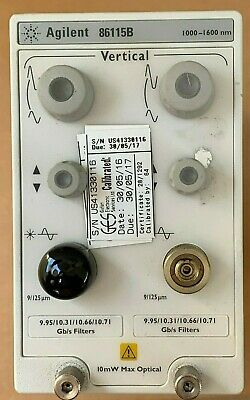 Hp Agilent 86115b 28 Ghz Dual Channel Optical Module