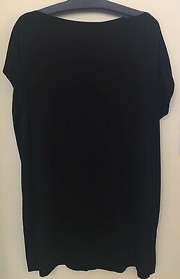 Women's Vince Size XS Black Long Shirt Top Blouse