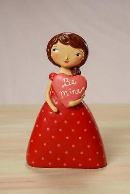 Be Mine - Valentine's Day Beautiful Girl Love Figurine - Jenene Mortimer - 75003