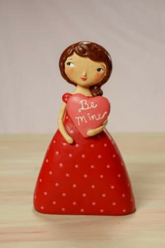 Be Mine - Valentine's Day Beautiful Girl Love Figurine - Jenene Mortimer - 75003