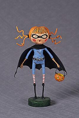 Lori Mitchell Halloween Figurines (Lori Mitchell™ - Batty Natty - Halloween Super Hero Bat Girl Figurine)