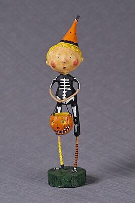 Lori Mitchell™ - Funny Bones - Halloween Skeleton Costume Boy Figurine - 10290