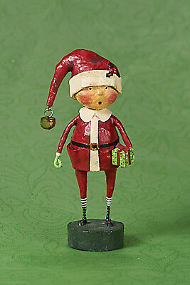 Lori Mitchell™ - Playing Santa - Christmas Costume Boy w Gift Figurine - 23983
