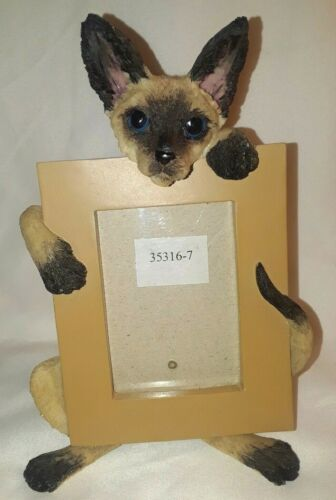 "Siamese Cat 7"" tall Picture Photo Frame"