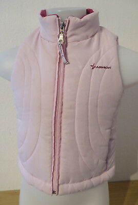 PRETTY GIRLS ° warme STEPPWESTE Gr. 92 rosa Mädchen Mode Kleidung Weste Outdoor ()
