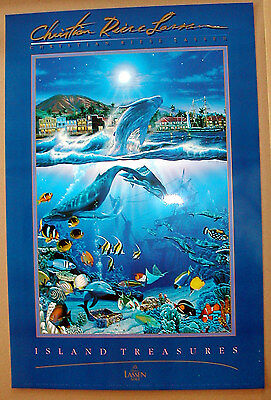 SET OF 3 LARGE - BRAND NEW - CHRISTIAN LASSEN POSTERS