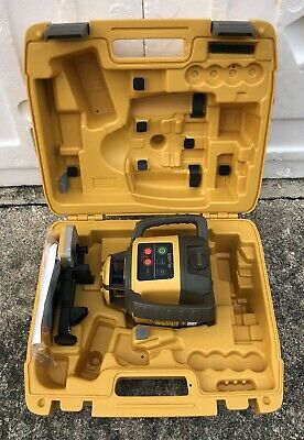 Topcon Rl-h5a Horizontal Self-leveling Rotary Laser W Ls-80l Receiver Late-2019