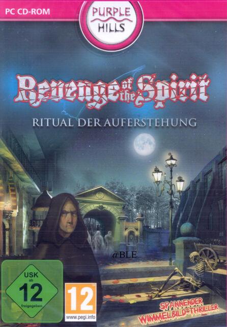 PC CD-ROM + Revenge of the Spirit + Ritual der Auferstehung + Wimmelbild Win 8