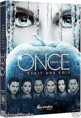 Once Upon a Time (Coffret Slim) L' INTÉGRAL DE LA SAISON 4 - DVD VF Neuf