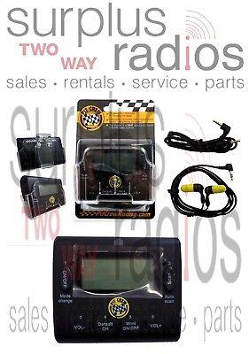 New Uhf Pit Crew Scanner Fm Radio Kit 2400 Frequencies 50ch Ham Racing